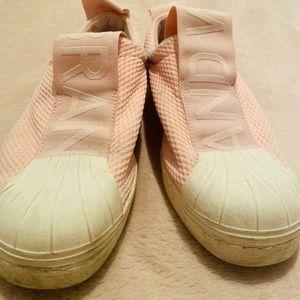 Adidas BW3S Pink Slip On Superstar Sneaker Shell